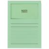ELCO Ordo Classico mit Linien, grün, Pack à 100 Stück