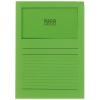 ELCO Ordo Classico mit Linien, intensivgrün, Pack à 100 Stück
