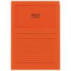 ELCO Ordo Classico mit Linien, orange, Pack à 100 Stück