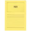 ELCO Ordo Classico mit Linien, gelb, Pack à 100 Stück