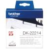 brother Endlosetikett DK-22214 weiss, 12 mm x 30.48 m