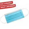 Mundschutzmasken blue, Pack à 50 Stück