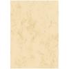 sigel Motiv-/Designpapier, 200 g/m² in A4, Marmor beige, Pack à 50 Blatt