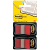Post-it Index Haftstreifen rot, Pack à 2 x 50 Stück