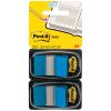 Post-it Index Haftstreifen blau, Pack à 2 x 50 Stück