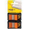 Post-it Index Haftstreifen orange, Pack à 2 x 50 Stück