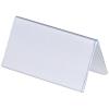Durable Tischnamensschild/Dachaufsteller 10 x 5.2 cm