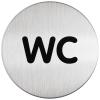 Durable Piktogramm WC, Durchmesser 8.3 cm