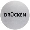 Durable Piktogramm Drücken, Durchmesser 6.5 cm