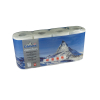 Toilettenpapier Edelweiss comfort, 3-lagig, hochweiss, 9.5 x 11 cm, Pack à 8 Rollen