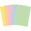 FocusShop Farbiges Papier colours in A4, 80 g/m², Pack à 500 Blatt, assortiert pastell