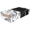 Wepa Kosmetiktücher 2-lagig, hochweiss, 20.5 x 21 cm, Box à 100 Stück