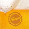 Stewo Servietten Beer gelb, 33 x 33 cm, Pack à 20 Stück