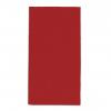 Servietten rot, 2-lagig, 33 x 33 cm, 1/8 Kopffalz, randgeprägt, Pack à 100 Stück