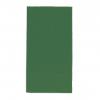 Servietten tannengrün, 2-lagig, 33 x 33 cm, 1/8 Kopffalz, randgeprägt, Pack à 100 Stück