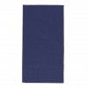 Servietten blau, 2-lagig, 33 x 33 cm, 1/8 Kopffalz, randgeprägt, Pack à 100 Stück