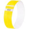 Eventbänder Super Soft, neon gelb, 255 x 25 mm, Pack à 120 Stück