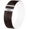 Eventbänder Super Soft, schwarz, 255 x 25 mm, Pack à 120 Stück