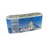 Toilettenpapier Edelweiss comfort+, 3-lagig, hochweiss, 9.3 x 12 cm, Pack à 8 Rollen