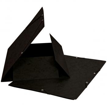 Biella Gummibandmappe, schwarz