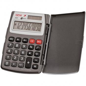 10-stelliger GENIE Taschenrechner 520