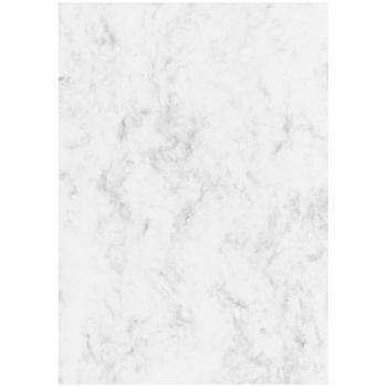 sigel Motiv-/Designpapier, 200 g/m² in A4, Marmor grau, Pack à 50 Blatt