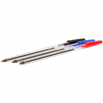 GENIE Einweg-Kugelschreiber 0.5 mm, Schreibfarbe assortiert, Pack à 50 Stück