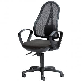 Bürodrehstuhl Comfort NET, anthrazit