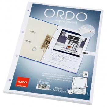 ELCO Ordo Vista mit Linien, weiss, Pack à 10 Stück