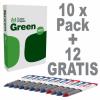 10 Pack Navigator Economy Kopierpapier in A4, 80 g/m² + 12 GENIE Druckkugelschreiber GRATIS!