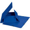 Biella Gummibandmappe, blau