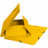 Biella Gummibandmappe, gelb